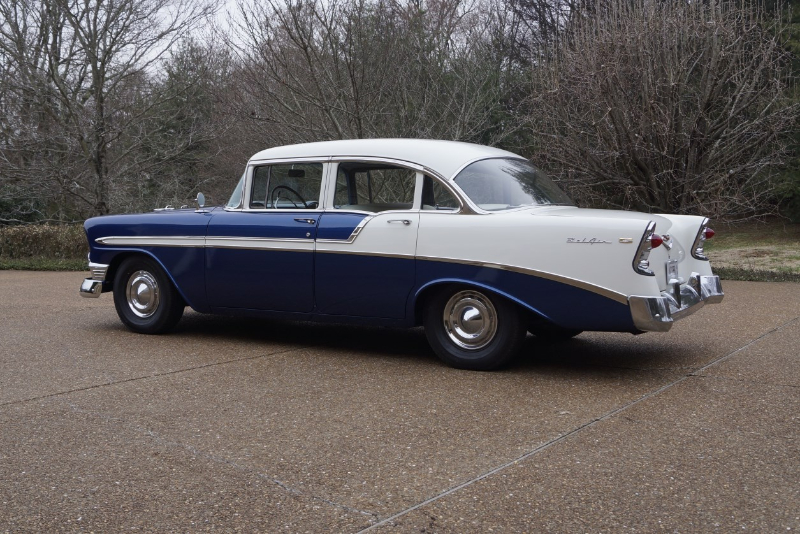 Sold  U2013 1956 Bel Air 4 Door Resto 4l60e